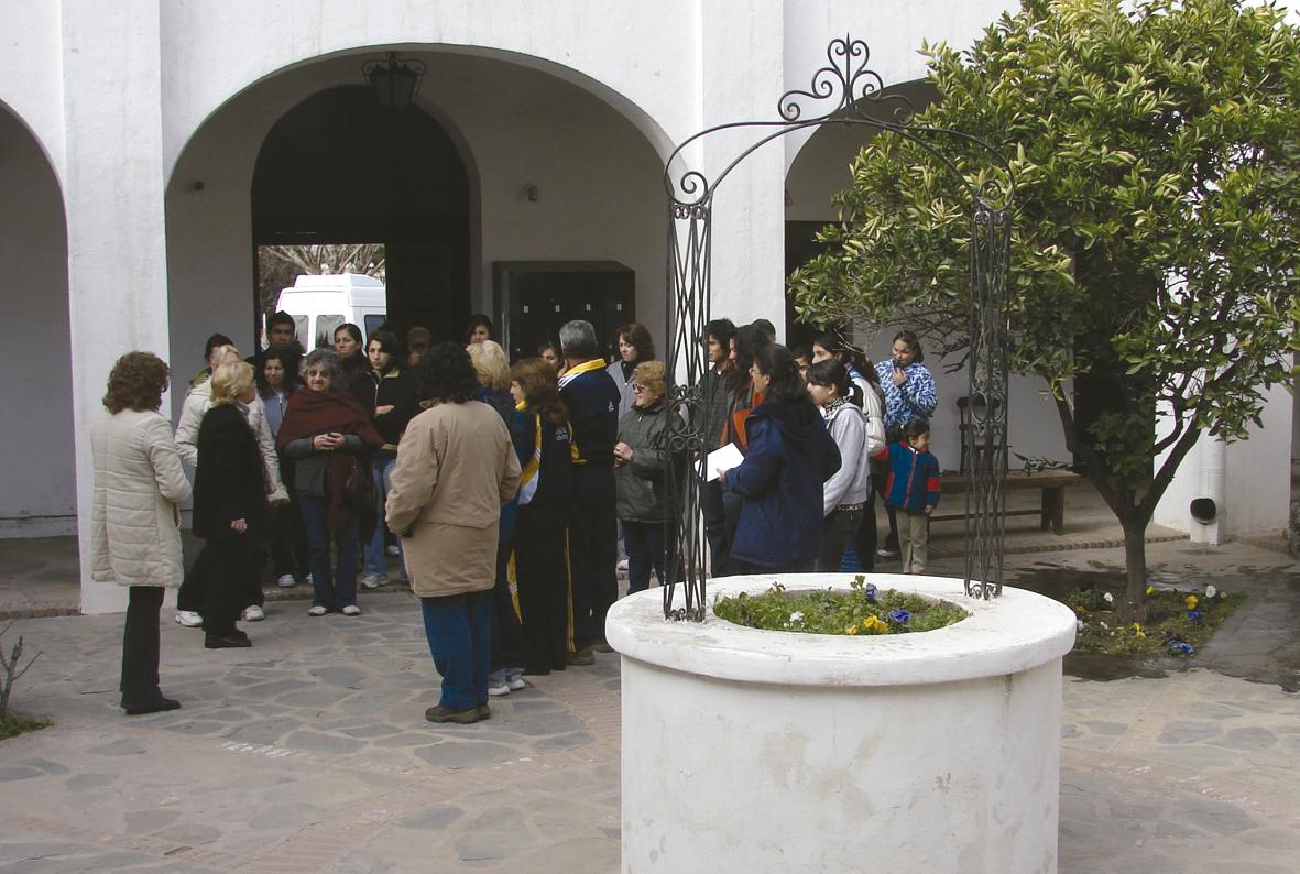Días frescos, ideales para recorrer en Centro Histórico de Villa Cura Brochero