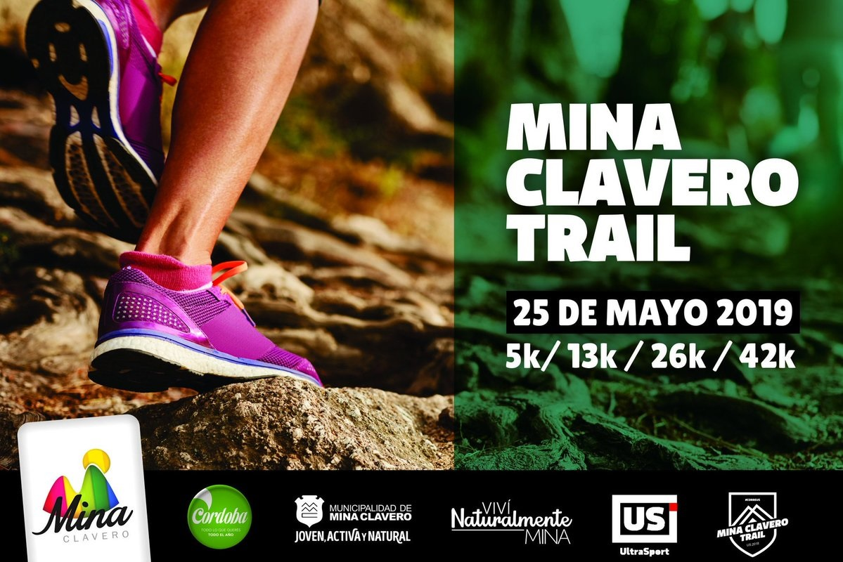 Este mes llega la Mina Clavero Trail