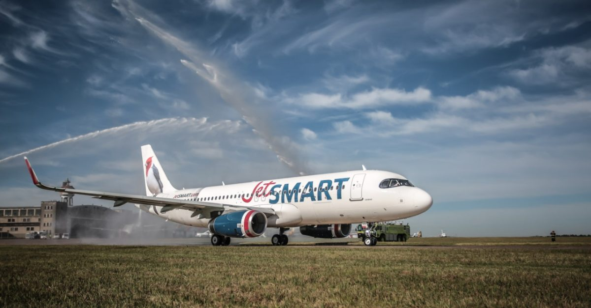 JetSMART operará desde Aeroparque con mas frecuencias y precios bajos para Córdoba