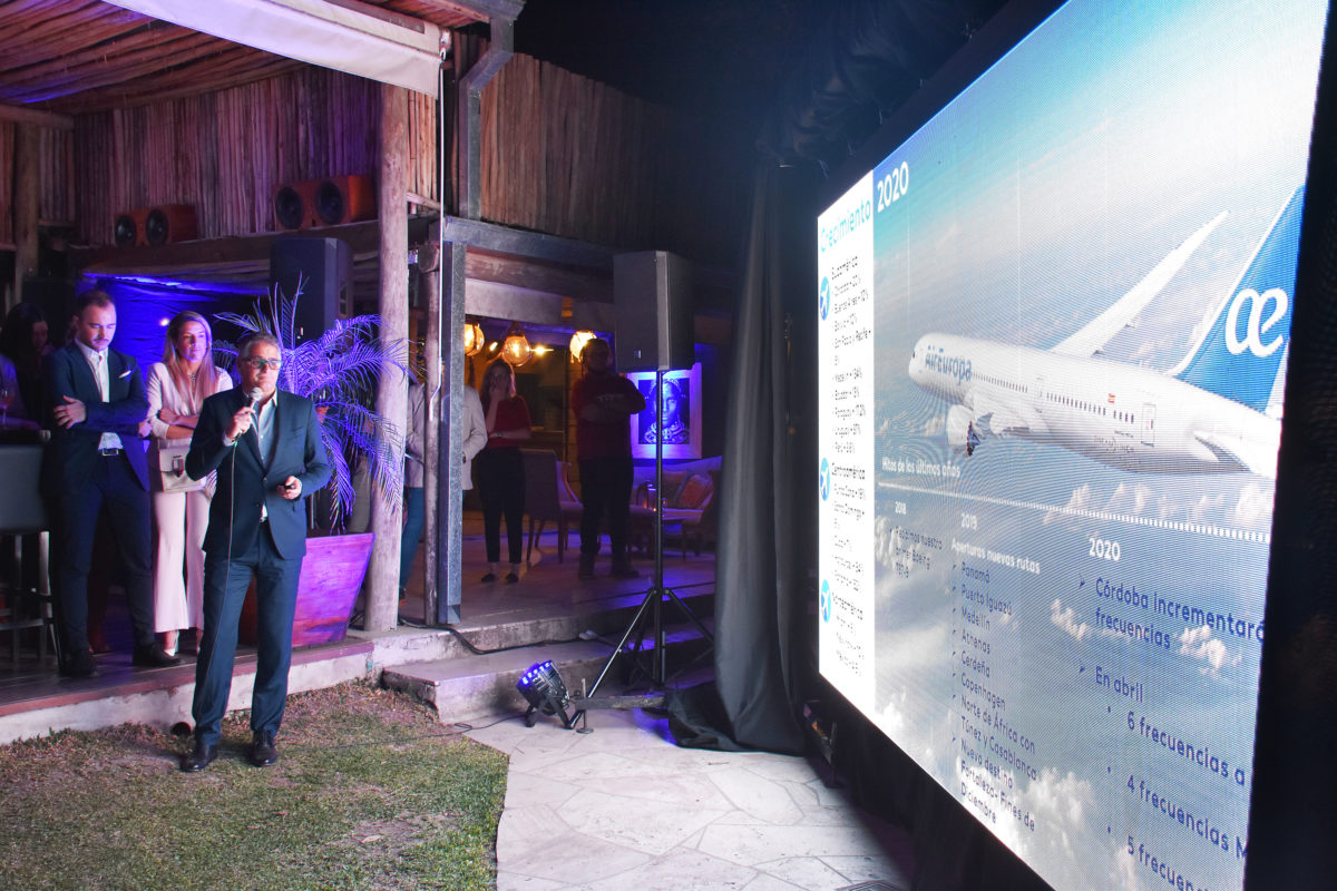 Air Europa presentó la flota Dreamliner. Comenzará a operar en Córdoba a partir de noviembre