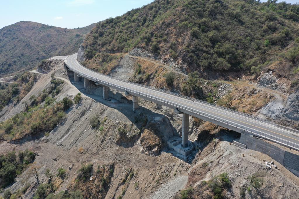 Quedó inaugurada la mega obra bajada de las Altas Cumbres