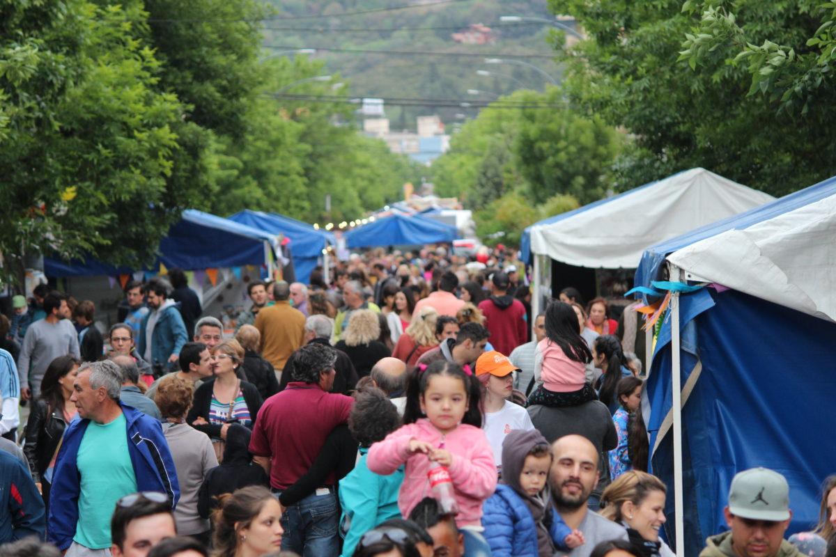 Finde largo: La Falda tuvo una exitosa Fiesta Nacional del Alfajor