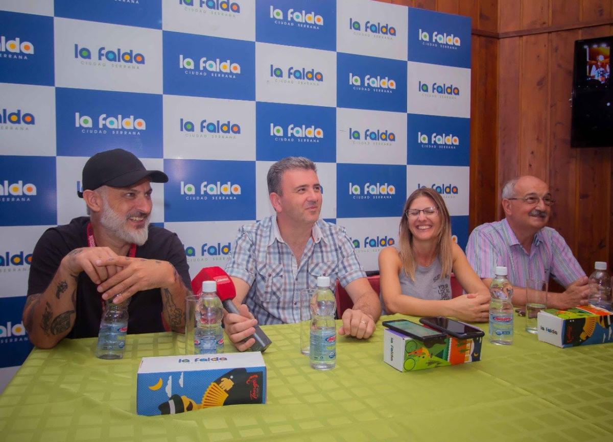 Cosquín Rock 2020 desembarcó en La Falda con un show de Guasones