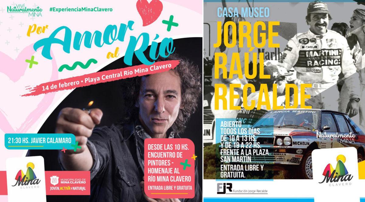 Atención turistas: En febrero Mina Clavero cuenta con una extensa agenda de eventos.