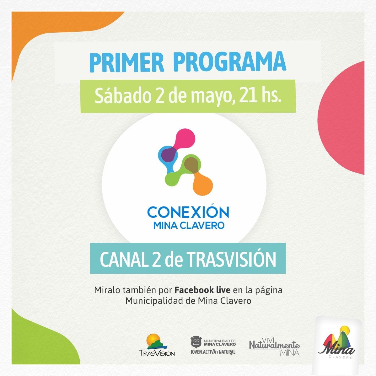 Conexión Mina Clavero: la nueva propuesta cultural y turística en la TV local