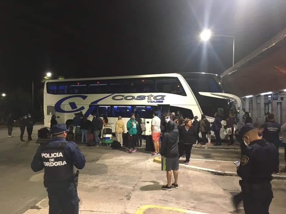 Mina Clavero gestionó el regresó de 33 turistas bonaerenses