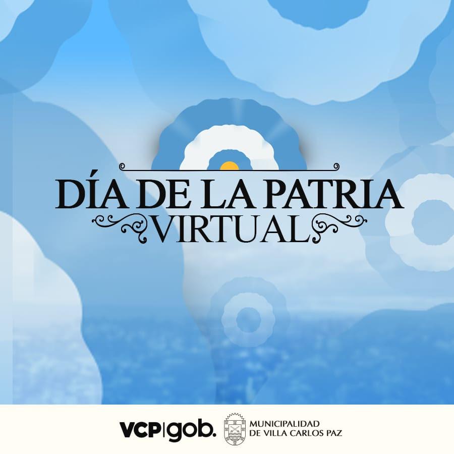 Villa Carlos Paz celebra el 25 de Mayo en formato virtual