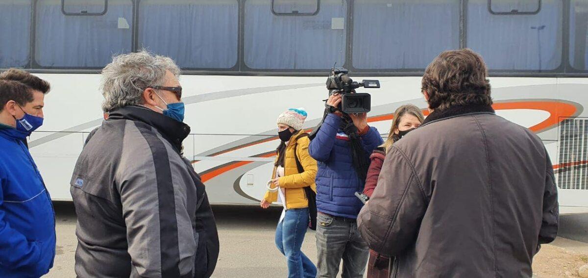 Agentes de viajes volvieron a marchar por el centro de Córdoba reclamando una ley de emergencia