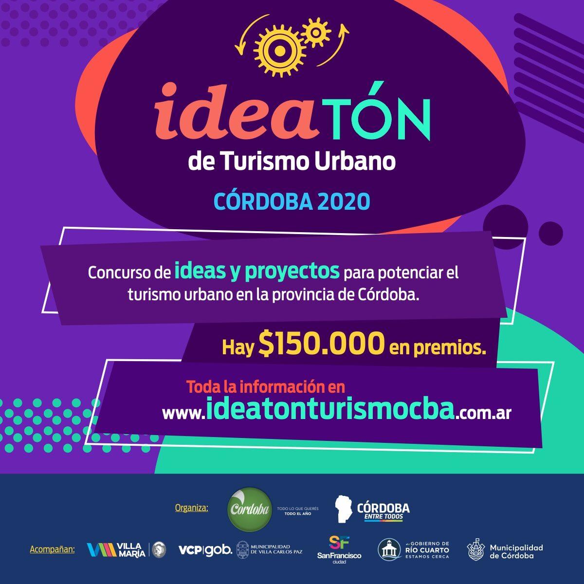 """Llega el concurso creativo """"Ideatón de Turismo Urbano"""""""