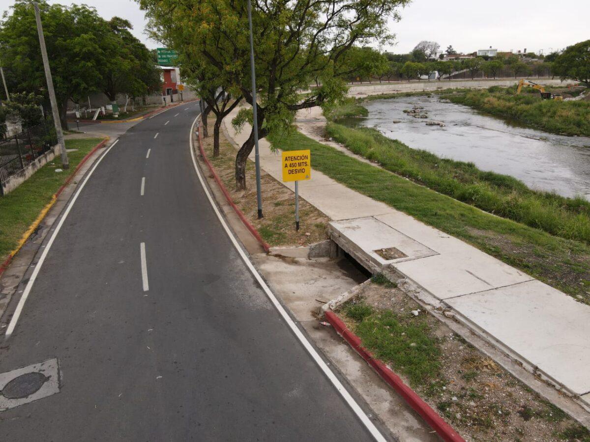 Ciudad de Córdoba: Quedó habilitado el tramo de la Costanera entre puentes Maldonado y Yapeyú