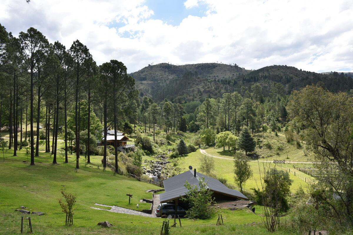 Rincones de Córdoba: La Ernestina, una experiencia serrana de naturaleza viva