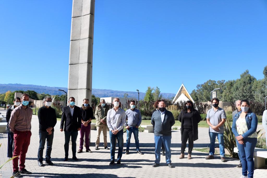 Esteban Avilés se reunió con representantes del turismo de Traslasierra