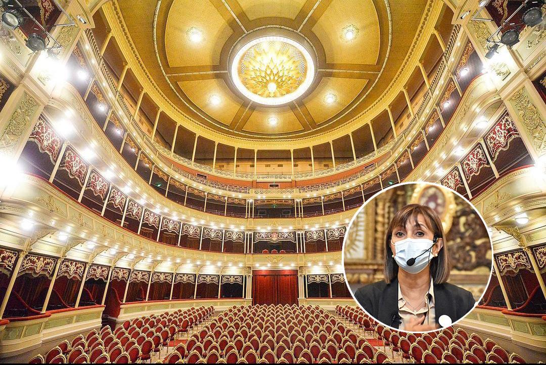 Teatro General San Martin: Comienza la Función