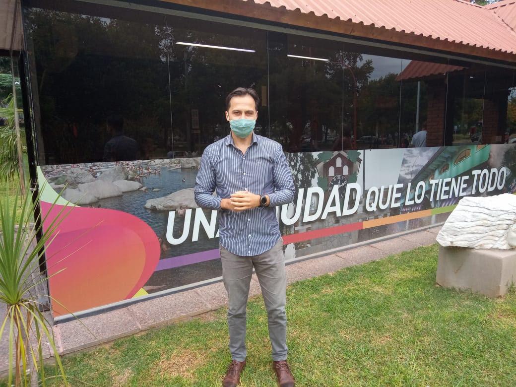 """Sebastián Boldrini: """"Apuntamos a un turismo de cercanía para abril y mayo en Villa Carlos Paz"""""""